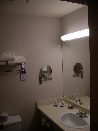 BEST WESTERN The Westerly Hotel & Convention Centre: The bathroom