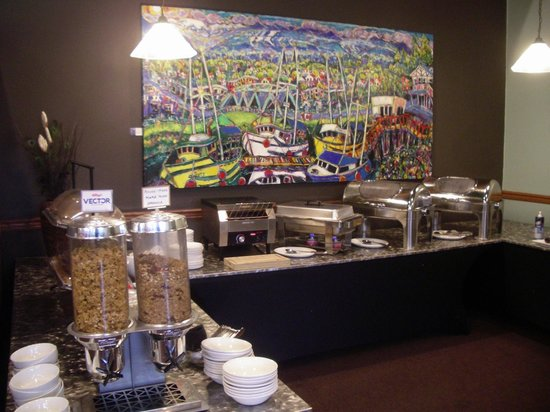 BEST WESTERN The Westerly Hotel & Convention Centre: Breakfast