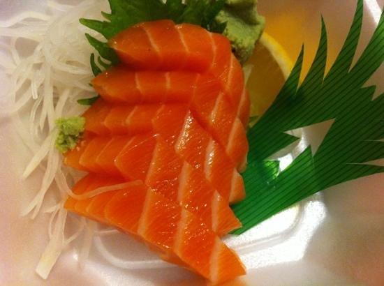 Sushi Mon : Salmon sashimi