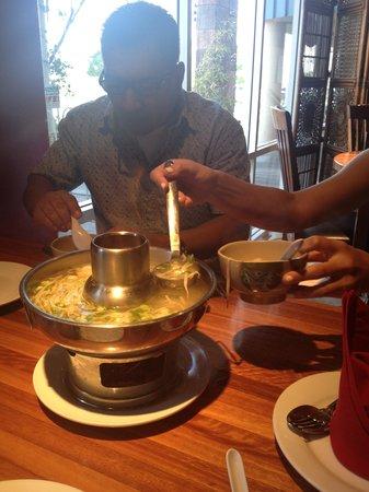 Benja Thai & Sushi: family dinner