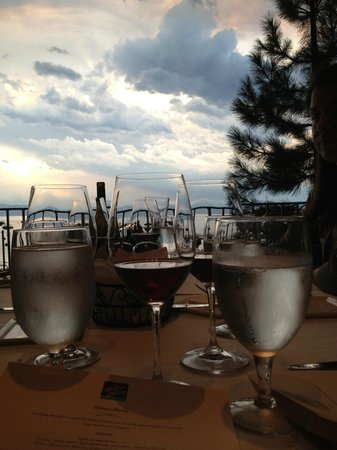 West Shore Cafe: Table view