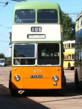 My favourite trolley bus from Glasgow - Picture of The