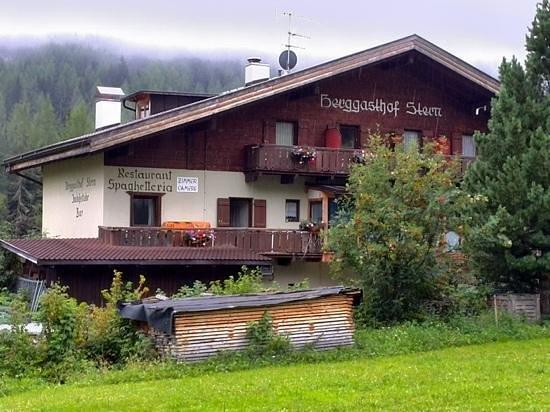 Berggasthof Stern: L'Albergo/Ristorante più a Nord d'Italia!