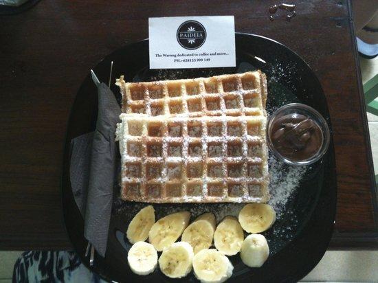 Paideia Coffee Shop: Yummy Brunch!
