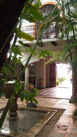 Hotel Casa del Balam : Courtyard