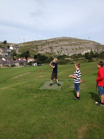 Great Orme family golf - a gem of a place!