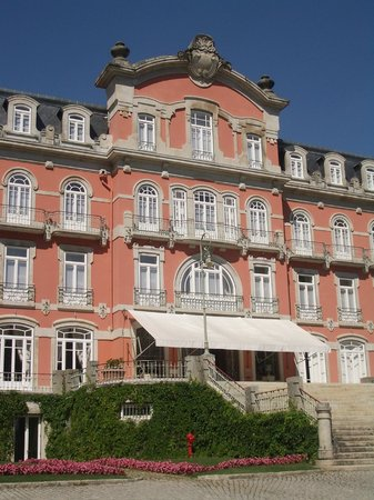 Vidago Palace Hotel: Front Building