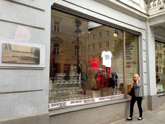Магазин подарков T&A, г. Вильнюс