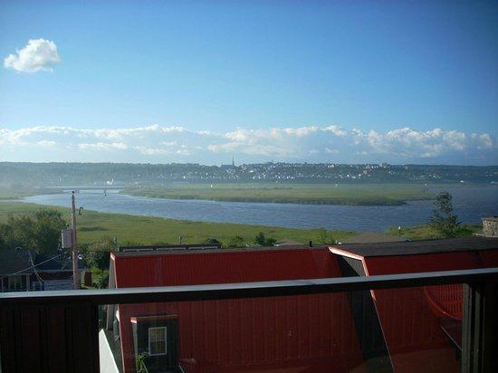 Motel Loupi : Balcony view