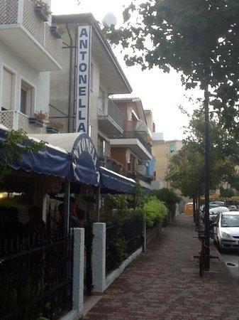 Hotel Antonella : центральный вход