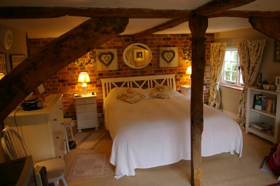 The Old Manor House Bed & Breakfast: Double bedroom