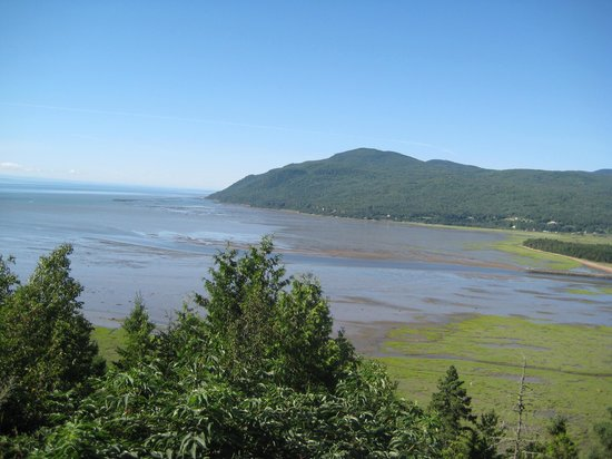Auberge Ancrage : River mouth @ Charlevoix