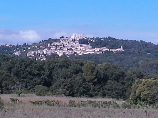 La Bastide des Magnans : vista dalla terrazza