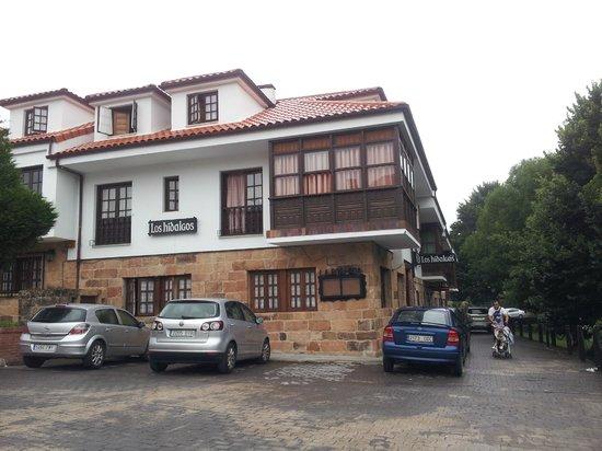 Los Hidalgos Hotel: HOTEL Y APARCAMIENTO