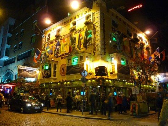 Temple Bar Hotel: Fleet Street, Dublin