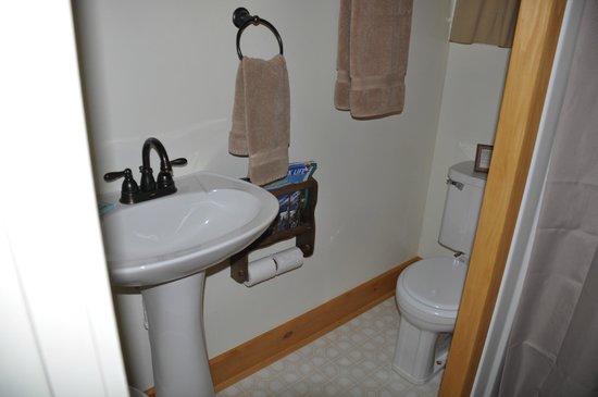 ADK Trail Inn: Bathroom