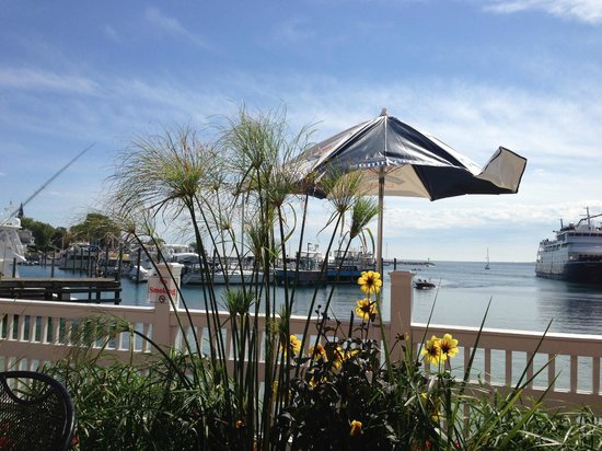 Chippewa Hotel Waterfront: View from patio