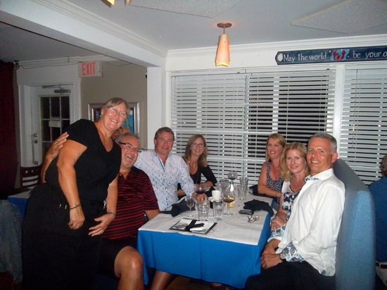 Oyster Company Raw Bar & Grill : Judy kept the food and laughter coming!