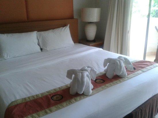 Bella Villa Prima Hotel: Кровать