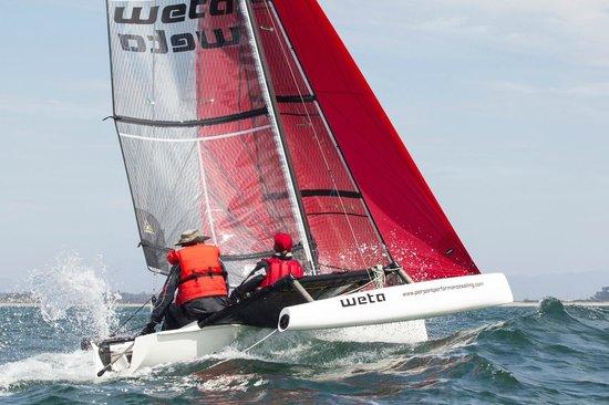 Pierpont Performance Sailing: Weta trimaran