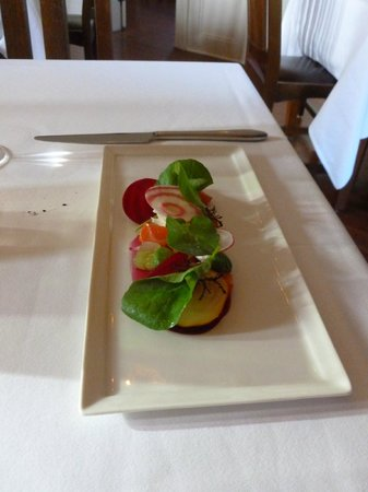 Cass House Restaurant: roasted beets