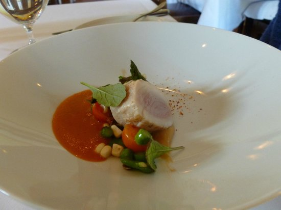 Cass House Restaurant: local albacore
