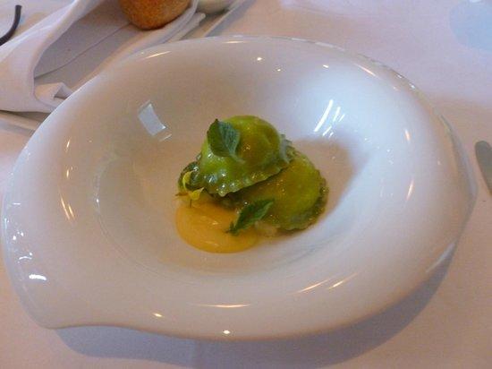 Cass House Restaurant: ravioli di zucca