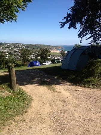 Higher Pentreath Campsite