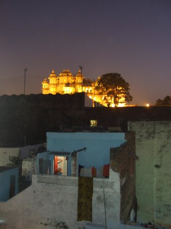Shiva Guesthouse: View from restaurant on rooftop