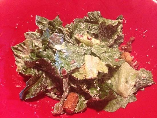 East Side Mario's: Caesar salad - all you can eat