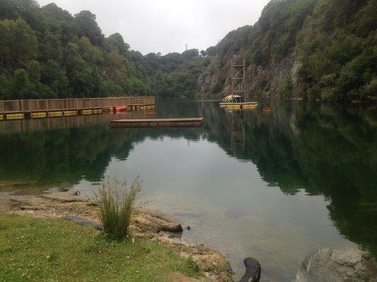 Adrenalin Quarry : Stunning surroundings