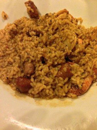 Cal Ros: paella mista