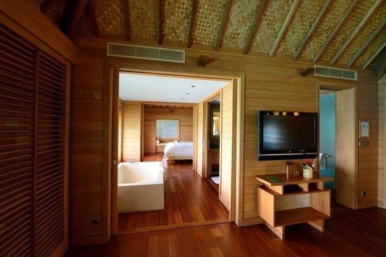 Four Seasons Resort Bora Bora: habitacion
