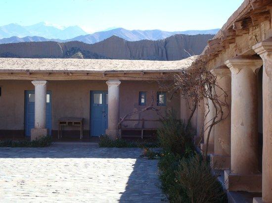 Sala de Payogasta: Desde la entrada
