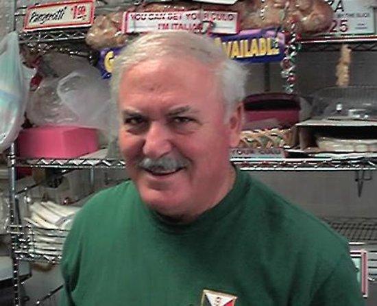 San Carlo Italian Deli : Vito the bread master