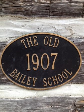 Bailey School: plaque