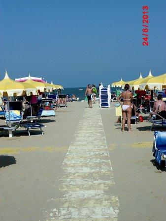 Hotel Caraibi: La spiaggia