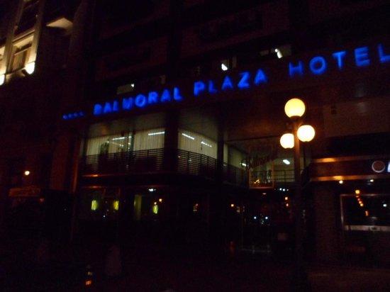 Balmoral Plaza Hotel: Hotel Balmoral a Noite