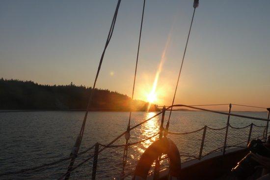 Star Charters Day Tour : Coucher du soleil sur le voilier