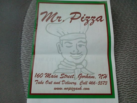 Mr.Pizza : Extensive menu
