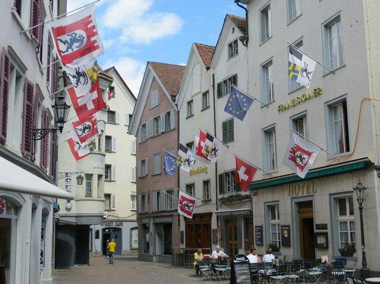 Ambiente Hotel Freieck: Old city Chur.