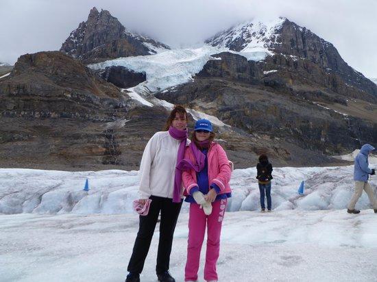 Columbia Icefield Glacier Adventure: en el glaciar