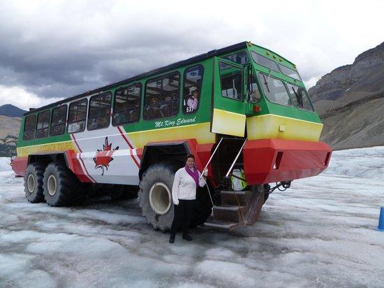Columbia Icefield Glacier Adventure: donde nos llevaron hasta el glaciar