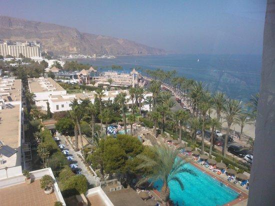 Playadulce Hotel: Vista de la piscina y playa