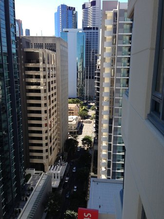 The Sebel Brisbane: view from the balcony