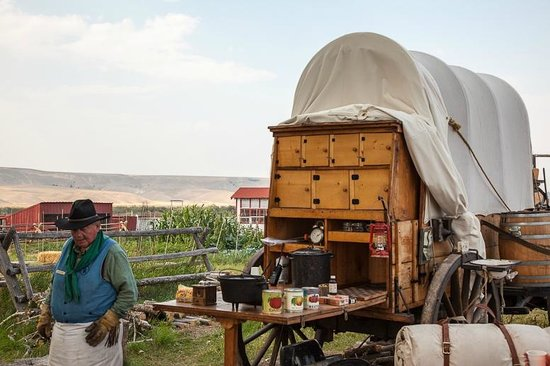Grant-Kohrs Ranch - National Historic Site : The Chuck Waggon
