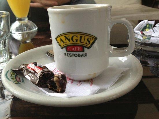 Angus Cafe Resto Bar : Rico café