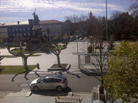 Hotel Lasa: Vistas desde la habitación
