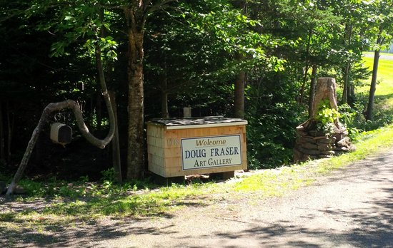 Doug Fraser Art Gallery and Sculptural Garden: Welcome to Doug Fraser Art