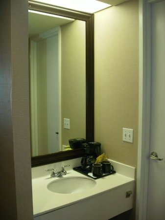 Crowne Plaza Pittsfield: Sink Outside Bathroom